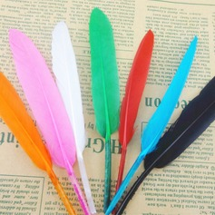 Feather Table Centerpieces