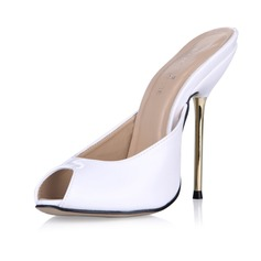 Patent Leather Stiletto Heel Sandals Pumps Slingbacks shoes