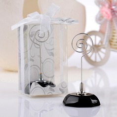 Simple Plastic Place Card Holders