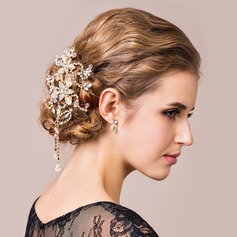 Attractive Rhinestones/Crystal Ladies' Hair Jewelry