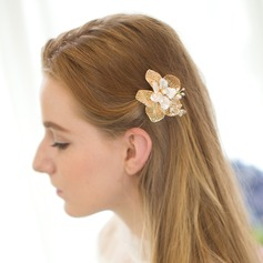 Lovely Alloy/Freshwater Pearl Combs & Barrettes