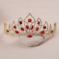 Ladies Gorgeous Alloy/Platinum Plated Tiaras