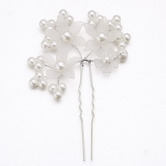 Glamourous/Handmade Alloy/Imitation Pearls/Acrylic Hairpins (Sold in single piece)