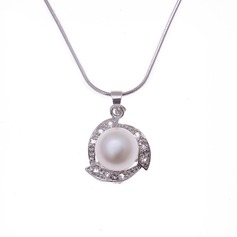 "Nice Pearl/925 silver and chain/""AAA"" Pearl Women's Necklaces"