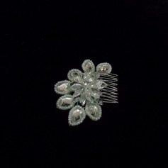 Stylish Crystal/Alloy Combs & Barrettes