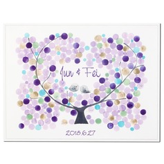 Personalized Canvas Fingerprint Painting