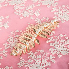 Gorgeous Alloy/Imitation Pearls Combs & Barrettes