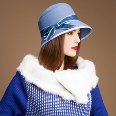 Ladies' Beautiful Wool With Bowler/Cloche Hat
