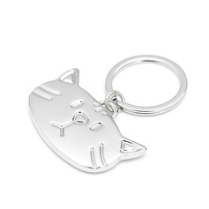 """Personalized """"Cute Cats"""" Zinc Alloy Keychains"""