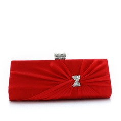 Pretty Silk/Crystal/ Rhinestone Clutches/Wristlets