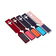 Plane Design Rubber Luggage Tags
