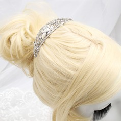 Shining Alloy Tiaras/Hair Combs