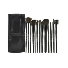 15 Pcs Synthetic Hair Makeup Brush Set With Pouch