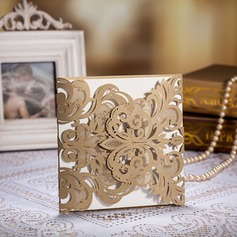 Floral Style Gate-Fold Invitation Cards  (114055077)