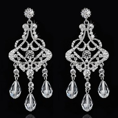 Luxurious Rhinestones Ladies' Earrings