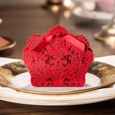 Romantic Moment Favor Boxes With Bow