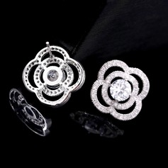 Fashional Rhinestones/Zircon Ladies' Earrings