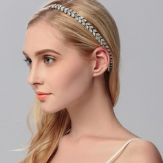 Leaves Shaped Rhinestone Headbands
