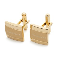 Personalized Classic Style Stainless Steel Cufflinks (200081050)