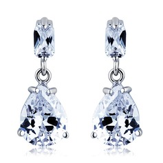 Nice Alloy/Cubic Zirconia Ladies' Earrings