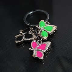 Classic Butterfly Design Zinc alloy Keychains