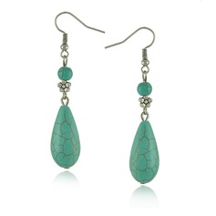 Stylish Alloy Turquoise Ladies' Fashion Earrings