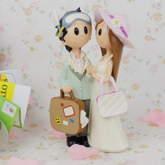 Non-personalized Bride Groom Resin Creative Gifts (129061180)
