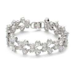Butterfly Shaped Zircon Ladies' Bracelets