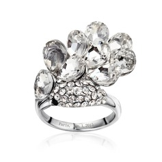 Personalized Alloy/Platinum Plated Ladies' Rings