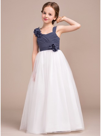 Floor Length Junior Bridesmaid Dresses