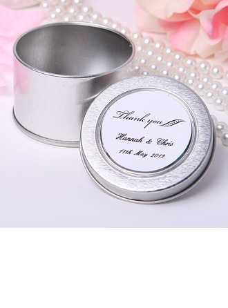 """Personalized """"Thank You"""" Tins Favor Tin"""
