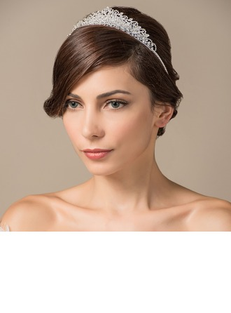Exquisite Rhinestone/Copper Tiaras