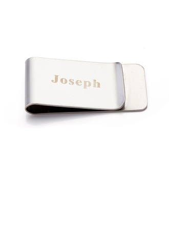 Personalized Stainless Steel Money Clips