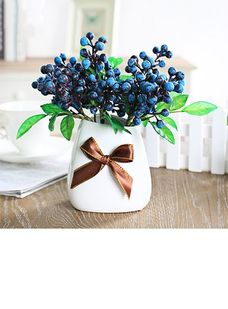 Lovely Artificial Silk Decorations/Wedding Table Flowers (set of 6) -