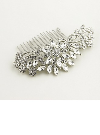 Exquisite Rhinestone/Alloy Combs & Barrettes